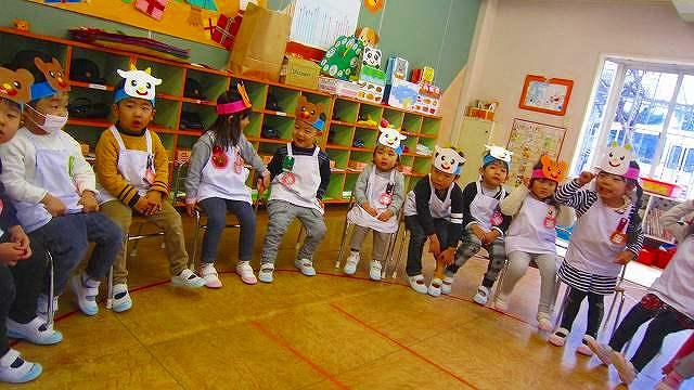 年少組 おひっこしゲームであそんだよ♪ | 新潟中央幼稚園